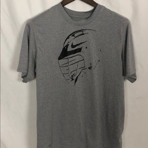 Nike Dri-Fit Graphic Helmet Legacy Tee Size M